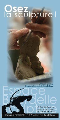 PORTES-OUVERTES DES ATELIERS #Montauban @ Espace Bourdelle Sculpture