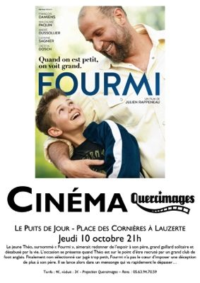 "PROJECTION DU FILM ""FOURMI"" #Lauzerte @ Le Puits de Jour"