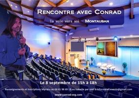 RENCONTRE AVEC CONRAD, LA VOIE VERS SOI #Montauban @ Hôtel Villenouvelle