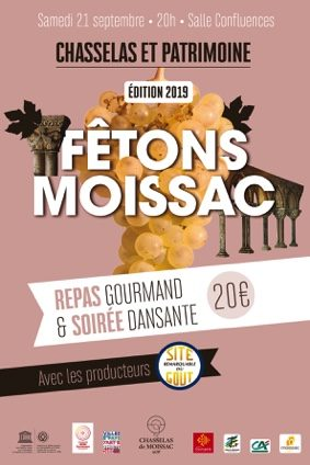 REPAS GOURMAND SITES REMARQUABLES DU GOUT #Moissac @ Salle Confluences