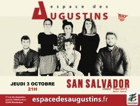SAN SALVADOR CHOEUR POPULAIRE, MASSIF CENTRAL #Montauban @ Espace des Augustins
