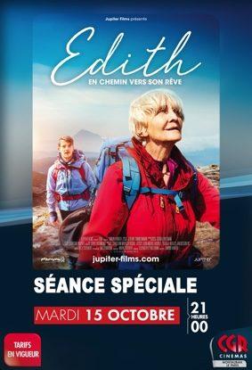 SÉANCE UNIQUE - EDITH EN CHEMIN VERS SON RÊVE #Montauban @ Cinéma CGR Le Paris