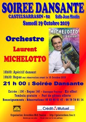 SOIREE DANSANTE #Castelsarrasin @ Salle Jean Moulin