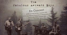 THE FABULOUS AWKWARD BOYS #Lauzerte @ Le Puits de Jour