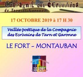 VEILLÉE POÉTIQUE #Montauban @ LE FORT