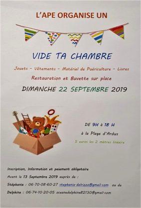 VIDE TA CHAMBRE #Lamothe-Capdeville @ Plage d'Ardus