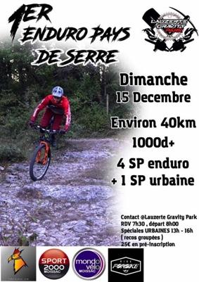 1er ENDURO PAYS DE SERRES #Lauzerte @ Gravity Park