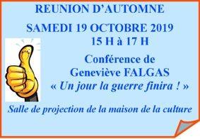 ASSEMBLÉE D'AUTOMNE #Montauban @ MAISON DE LA CULTURE