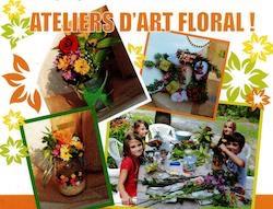 """ATELIER ENFANT D'ART FLORAL """"HALLOWEEN"""" #Lafrançaise @ Côté Nature"""