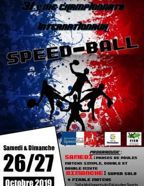 CHAMPIONNATS INTERNATIONAUX DE SPEED-BALL #Montauban @ Salle multisports du Palais des Sports Jacques Chirac (La Fobio)