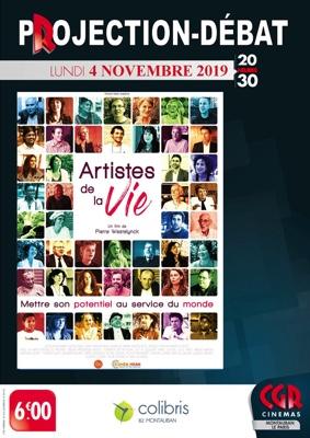 CINÉ-DÉBAT ARTISTES DE LA VIE #Montauban @ Cinéma CGR Le Paris