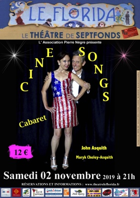 CINE SONGS CABARET #Septfonds @ Théâtre Le Florida Septfonds