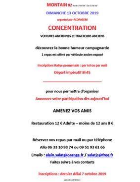 CONCENTRATION DE VOITURES ANCIENNES ET TRACTEURS ANCIENS #Montaïn