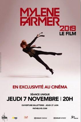 CONCERT EVÈNEMENT DE MYLÈNE FARMER #Beaumont-de-Lomagne @ Cinéma Les Nouveaux Bleus