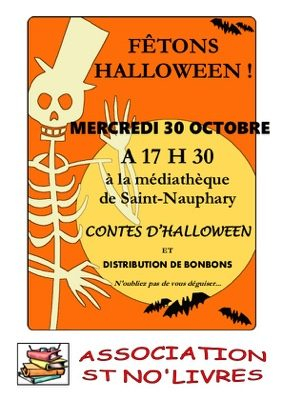 CONTES D'HALLOWEEN #Saint-Nauphary @ MEDIATHEQUE