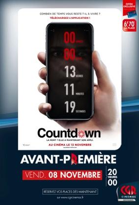 COUNTDOWN EN AVANT-PREMIÈRE #Montauban @ CGR MONTAUBAN
