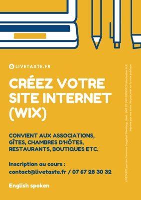 COURS : CRÉEZ VOTRE SITE INTERNET (WIX) #Parisot @ La mairie, 1er étage
