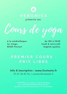 COURS DE YOGA #Parisot @ La médiathèque de Parisot, 1er étage