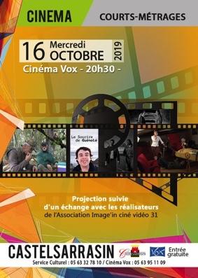 COURTS-MÉTRAGES #Castelsarrasin @ Cinéma Vox