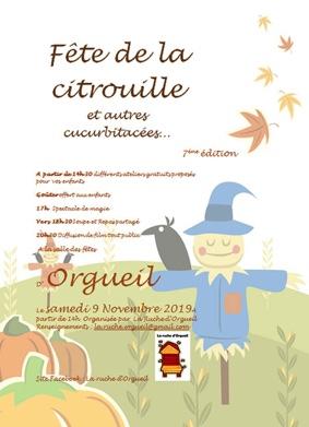 FÊTE DE LA CITROUILLE ET AUTRE CUCURBITACÉES #Orgueil @ salle des fêtes