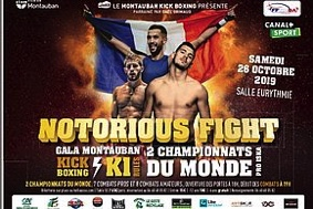 GALA DE BOXE NOTORIOUS FIGHT #Montauban @ EURYTHMIE