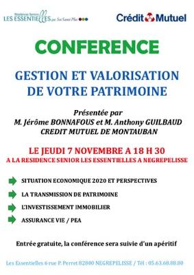 GESTION ET VALORISATION DE VOTRE PATRIMOINE #Nègrepelisse @ LES ESSENTIELLES