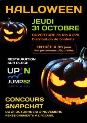 HALLOWEEN #Montauban @ Up'n jump82