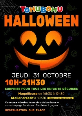 HALLOWEEN #Montauban @ Tohubohu
