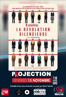LA RÉVOLUTION SILENCIEUSE #Montauban @ Cinéma CGR Le Paris