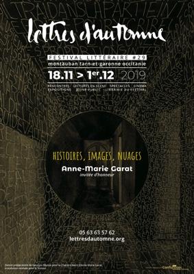 LETTRES D'AUTOMNE #29 #Montauban @ Montauban Théâtre Olympe de Gouges