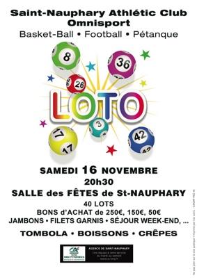 LOTO DU SNAC #Saint-Nauphary @ Salle des Fêtes