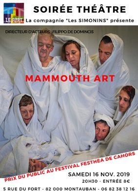 MAMMOUTH'ART #Montauban @ LE FORT