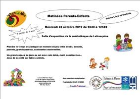 MATINÉE PARENT ENFANT #Lafrançaise @ Salle d'exposition de la médiathèque
