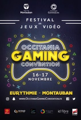 OCCITANIA GAMING CONVENTION #Montauban @ Eurythmie