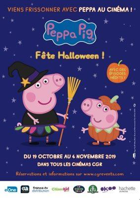 PEPPA PIG FÊTE HALLOWEEN #Montauban @ CGR MONTAUBAN