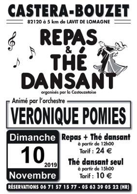 REPAS ET THE DANSANTS #Castéra-Bouzet @ salle des fêtes