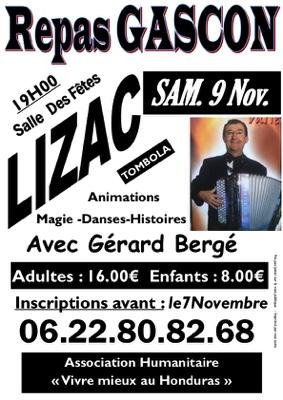 REPAS GASCON #Lizac @ Salle des fêtes