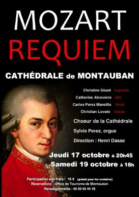 REQUIEM DE MOZART #Montauban @ Cathédrale