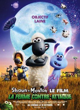 SHAUN LE MOUTON : LA FERME CONTRE-ATTAQUE - AVANT-PREMIERE #Caussade @ Cinéma-Théâtre