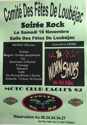 SOIRÉE ROCK #L'Honor-de-Cos @ salle des Fêtes