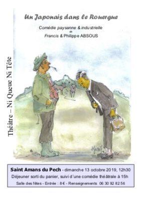 UN JAPONAIS DANS LE ROUERGUE #Saint-Amans-du-Pech @ Salle des fêtes