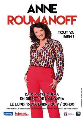 ANNE ROUMANOFF DANS TOUT VA BIEN #Montauban @ CGR MONTAUBAN