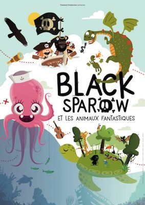 BLACK SPAROW ET LES ANIMAUX FANTASTIQUES #Montauban @ L'Espace V.O