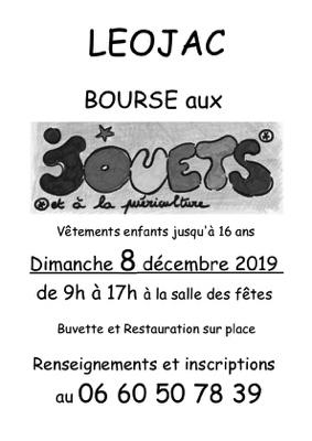 BOURSE AUX JOUETS, PUÉRICULTURE, VÊTEMENTS ENFANTS #Léojac @ Salle des fêtes
