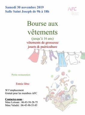 BOURSE AUX VÊTEMENTS ENFANTS #Montauban @ Salle Saint Joseph