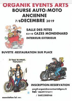BOURSE PIECE AUTO-MOTO #Cazes-Mondenard @ Salle des fêtes