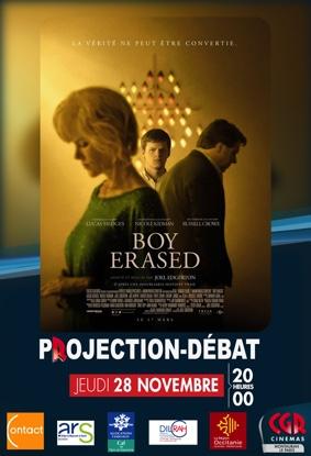 CINÉ-DÉBAT BOY ERASED #Montauban @ Cinéma CGR Le Paris