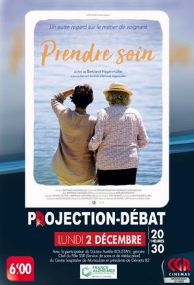 CINÉ-DÉBAT PRENDRE SOIN #Montauban @ Cinéma CGR Le Paris