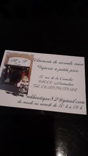 DÉSTOCKAGE MASSIF SUR TOUT LE MAGASIN #Montauban @ M&Bboutique Friperie Chic