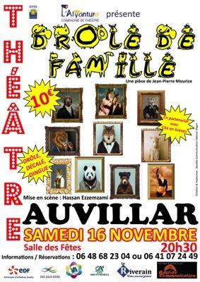 """""""DRÔLE DE FAMILLE"""" #Auvillar @ salle des fêtes"""